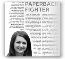 Authoright - Paperback Fighter